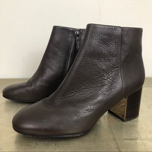 Tory Burch Cleveland Leather Ankle Bootie
